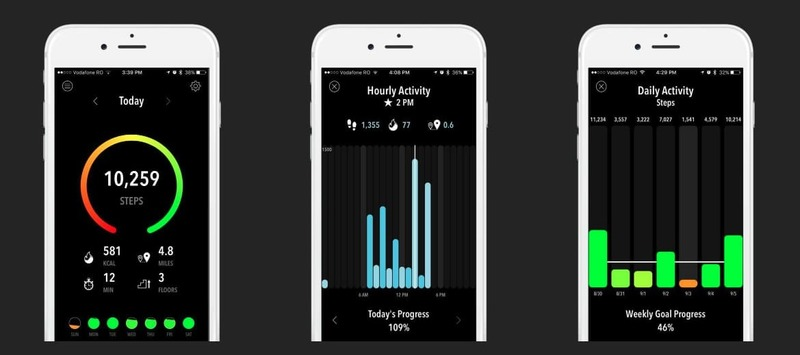 Activity Tracker monitors your physical activity without depleting your cell phone battery