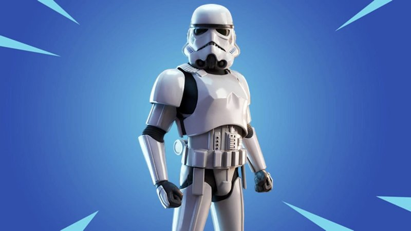 Get the Stormtrooper skin for free at Fortnite