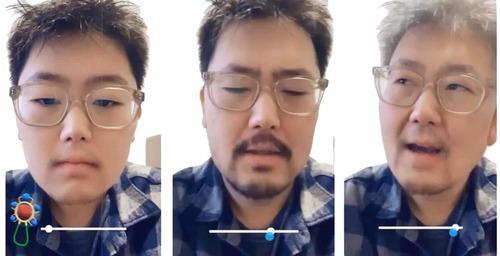 """Snapchat y su nuevo filtro """"Time Machine"""""""