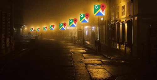 Google Maps will highlight the streets with better lighting at night