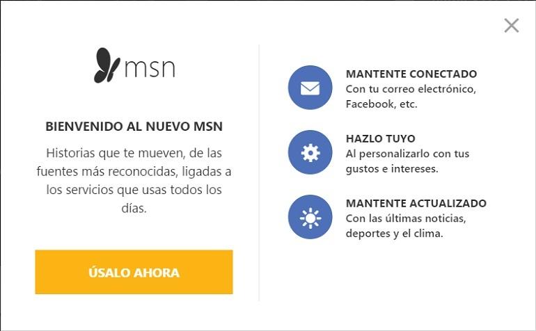 Microsoft presenta el nuevo MSN