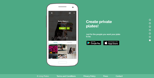 Share your own stories with Plates