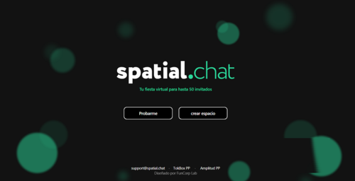 Virtual parties by SpatialChat