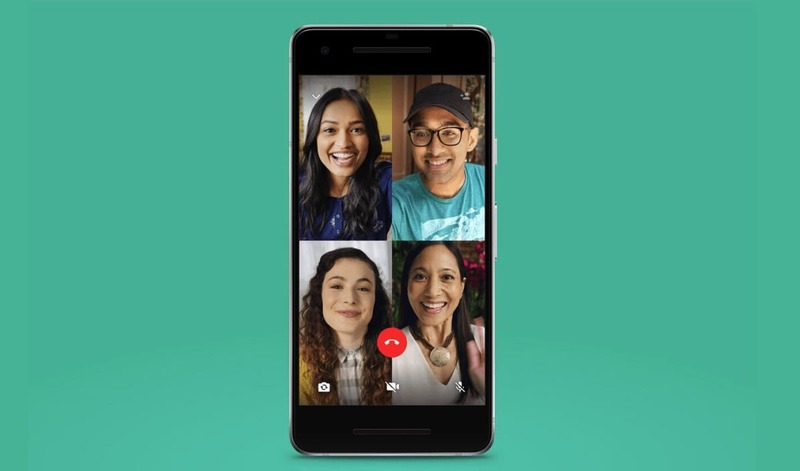 WhatsApp How to make a video call of up to 8 participants?