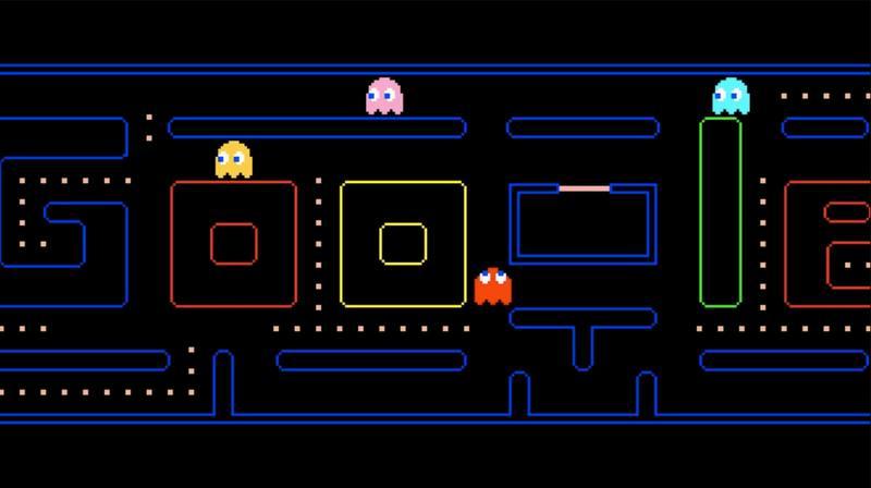 Juega al Pac-Man desde Google Doodle