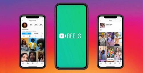 Reels, like TikTok but on Instagram