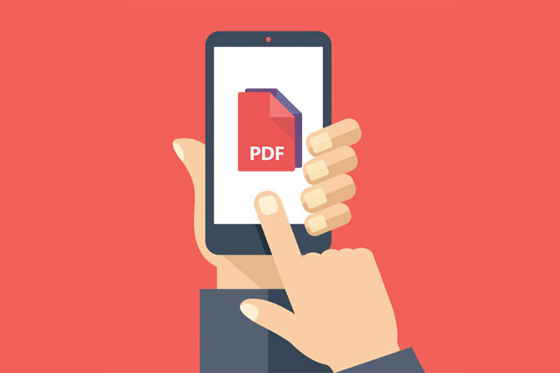 PDFs adapted to the cell phone screen