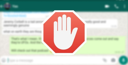 Prevent WhatsApp from blocking your account