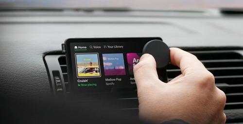 Spotify lleva la música a tu automóvil con Car Thing