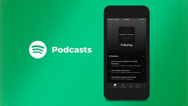 Spotify launches its subscription service for paid podcasts