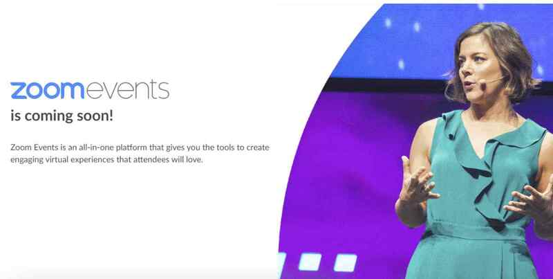 Zoom Events: Nueva plataforma para gestionar eventos virtuales integrales