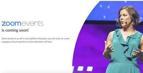 Zoom Events: nova plataforma para gerenciar eventos virtuais abrangentes