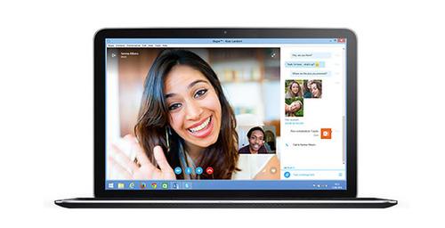 Skype puede usarse desde el navegador