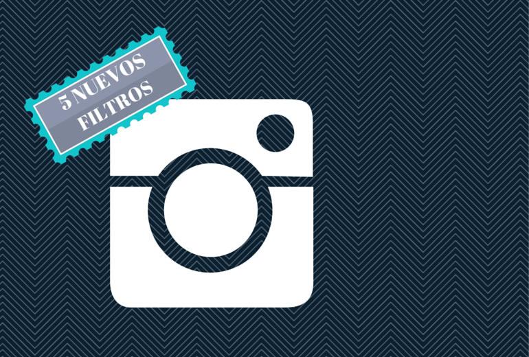 Instagram agrega 5 nuevos filtros