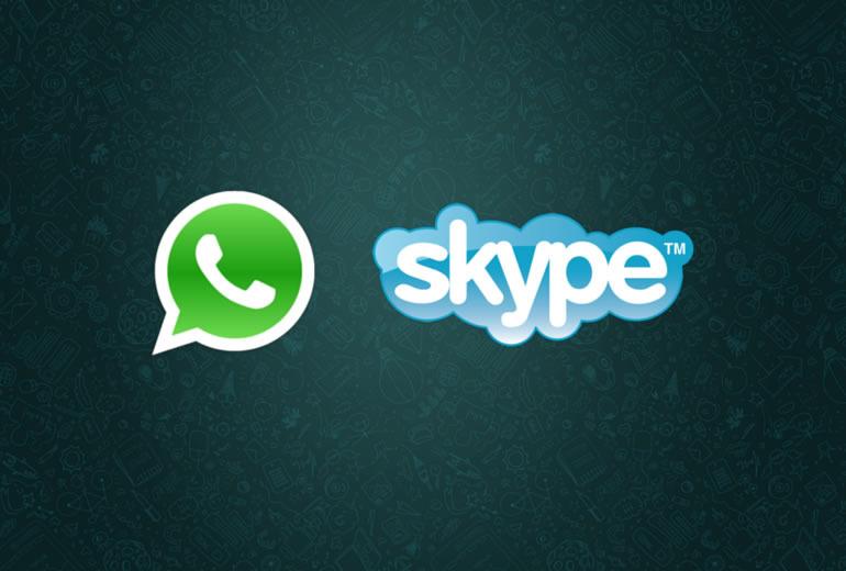 """WhatsApp implementaría llamadas vía Skype, con acento en la seguridad de un """"Modo conducción"""""""