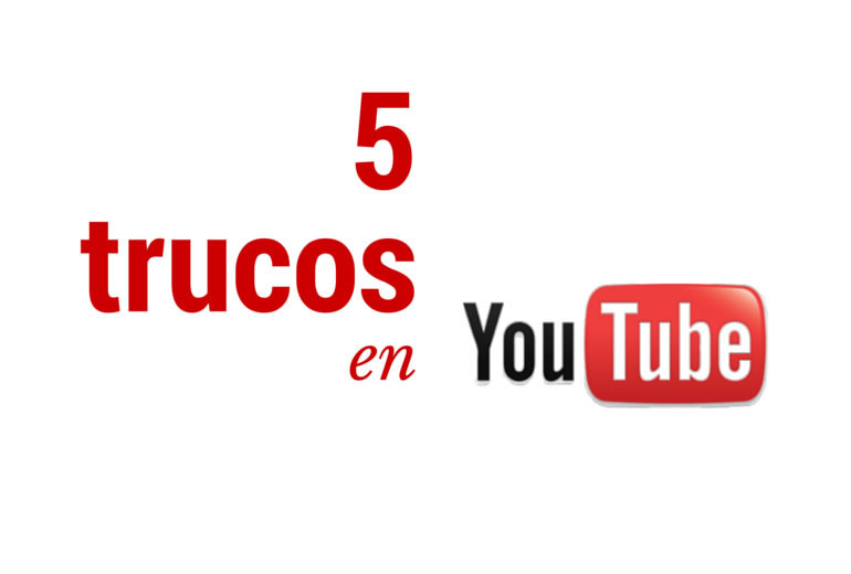 Cinco trucos para aprovechar en YouTube