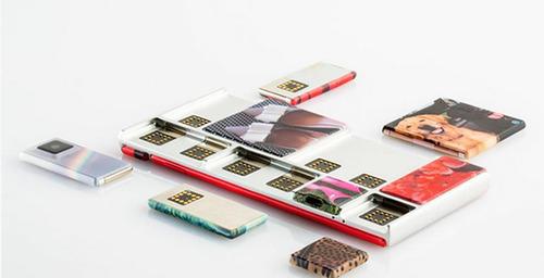 Google muestra su teléfono móvil modular