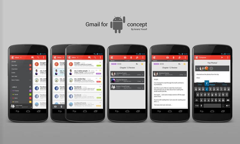 Gmail en Android: Bandeja de entrada unificada para distintas cuentas