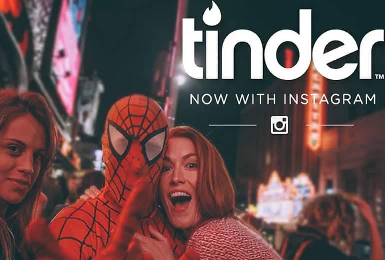 Tinder ahora te puede evaluar desde tu perfil en Instagram
