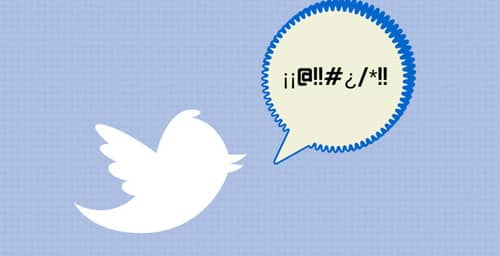 Twitter detecta y bloquea tuits ofensivos