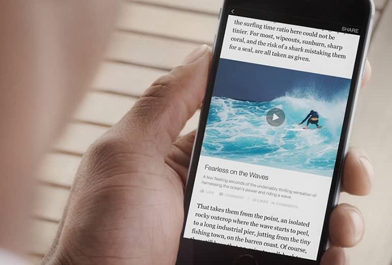 Medios publicarán directamente en Facebook a través de Instant Articles