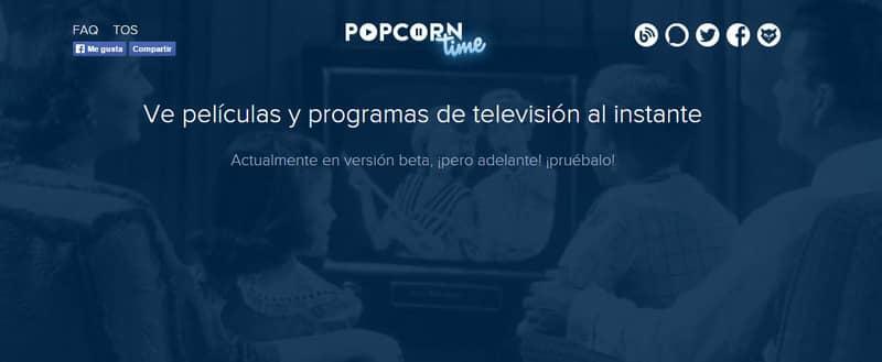 Conoce Popcorn time, el sitio de películas y series online del que todos hablan