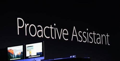 Apple quiere luchar contra Google Now con su Proactive