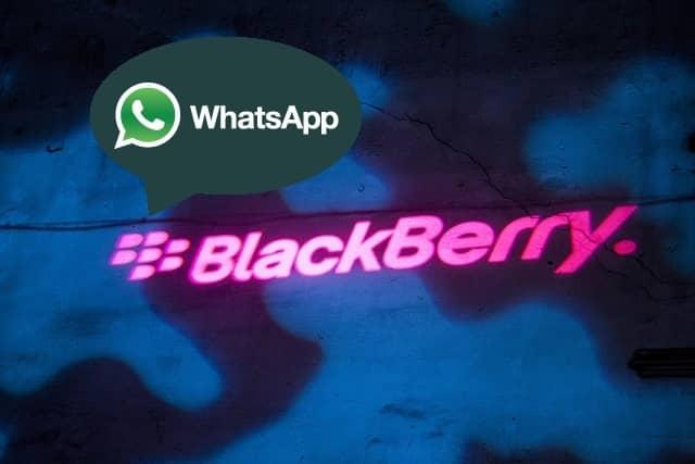 WhatsApp - Guía de Instalación para BlackBerry
