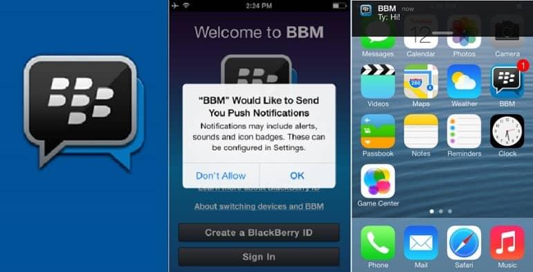 BlackBerry Messenger, el pionero en mensajería instantánea