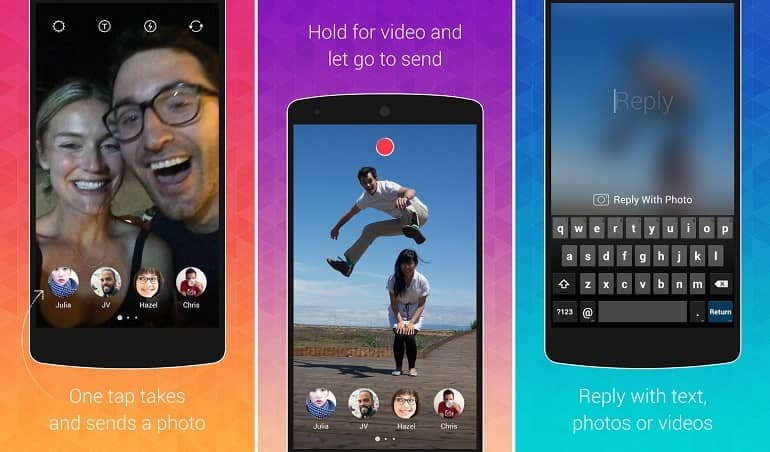 Instagram incursiona en la mensajería efímera con una nueva aplicación