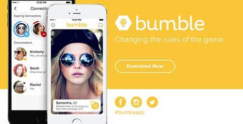 Bumble, la red donde las mujeres tienen el control