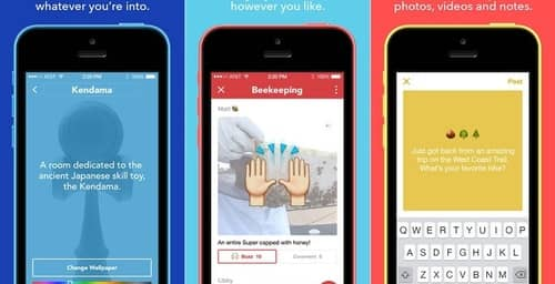 Facebook propone volver a los inicios de Internet con su nueva aplicación Room