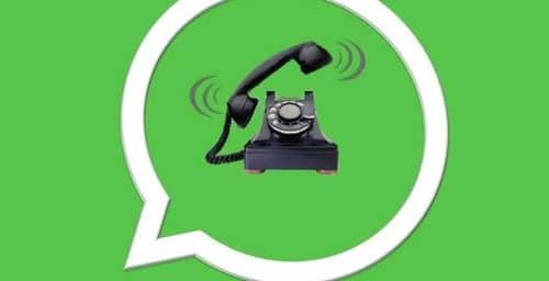 Hola, Aló, WhatsApp?, te estamos llamando …