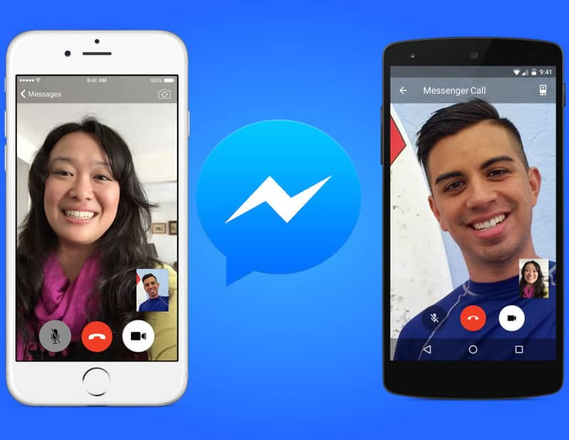 Llegan las videollamadas a Facebook Messenger