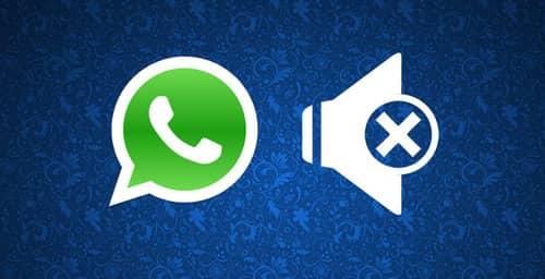 Silenciar las notificaciones de un grupo en Whatsapp