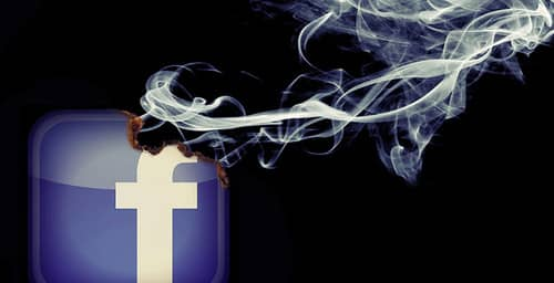 Facebook con problemas en su servicio