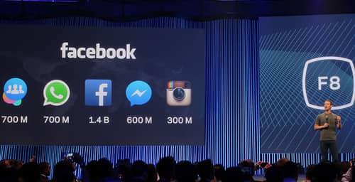 Te contamos las novedades de la reciente conferencia anual de Facebook F8