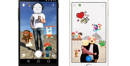 Facebook presenta Stickered para adornar tus fotos