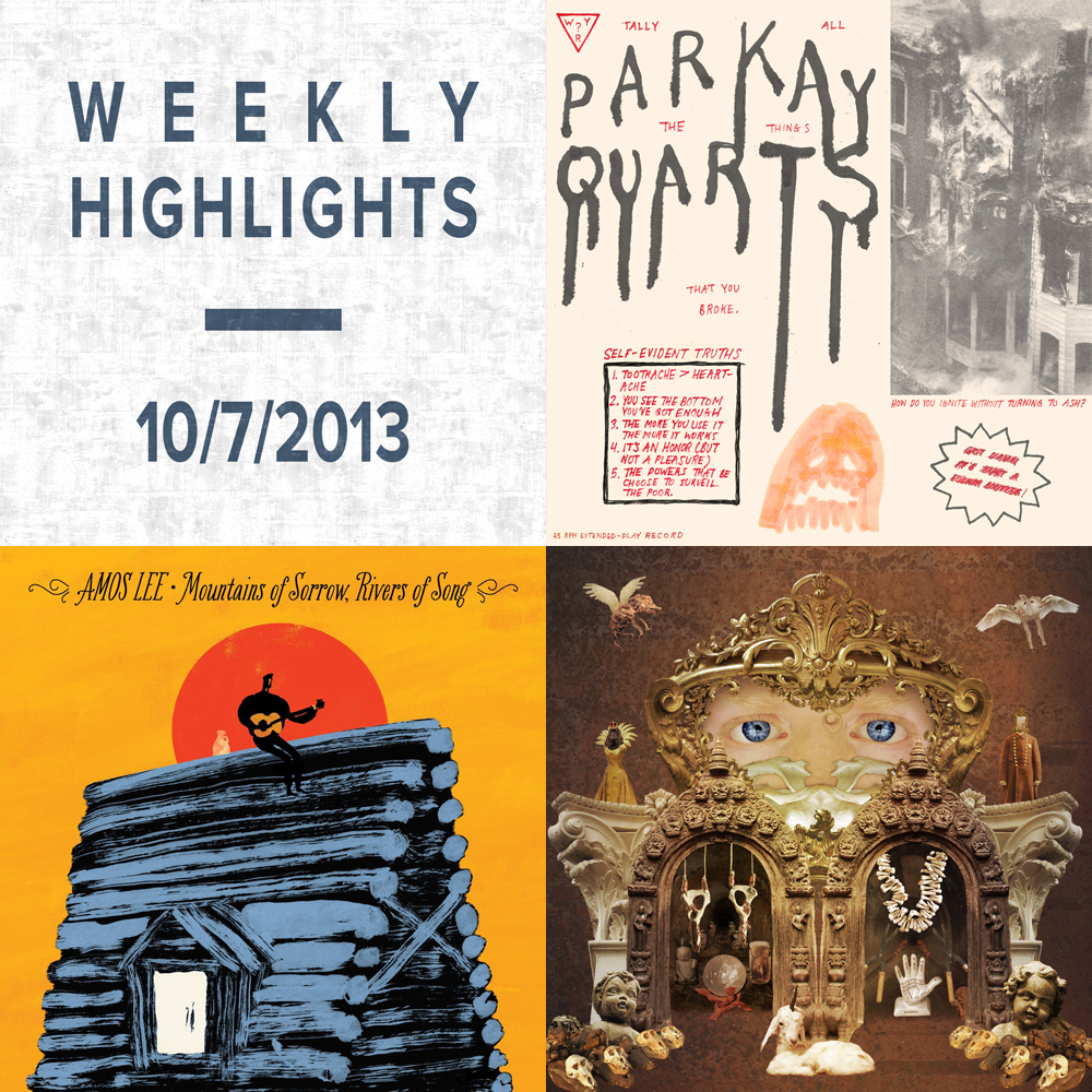 Weekly Highlights: 10/7/2013