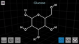 Android smartphone molecule structure