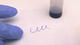 Chemical ink eraser