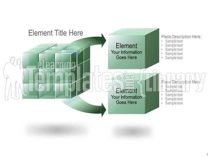 building blocks graphic for powerpoint presentation templates