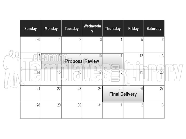 Calendar Graphics Graphic For Powerpoint Presentation Templates