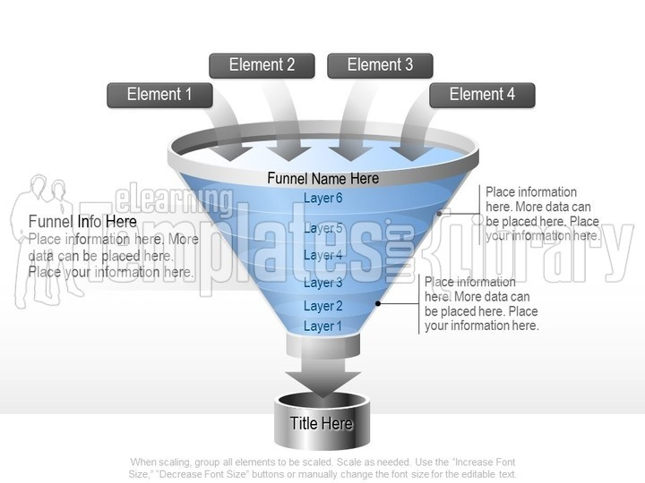 funnel graphics graphic for powerpoint presentation templates