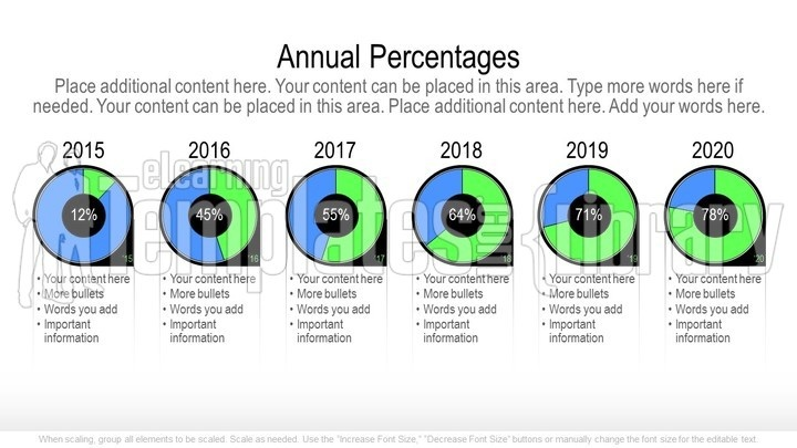 PowerPoint Pie Chart Graphic Template - Pie Charts and Templates