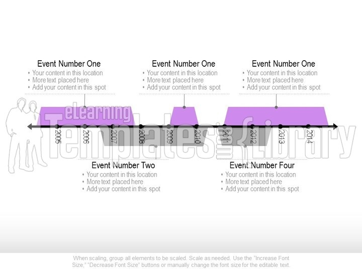 Timeline Graphics Graphic For PowerPoint Presentation Templates - Timeline graphic template