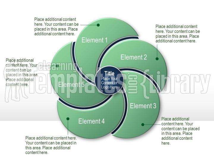 Venn Diagrams Graphic For Powerpoint Presentation Templates