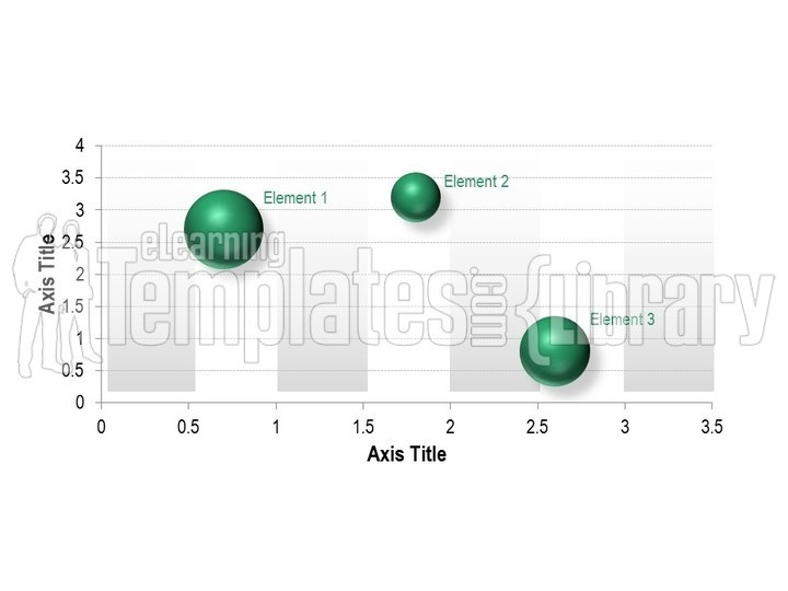 bubble charts graphic for powerpoint presentation templates