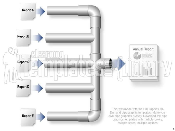 Pipe Graphic Graphic For PowerPoint Presentation Templates - Pipe templates