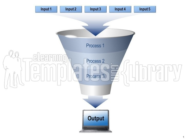 funnel graphics graphic for powerpoint presentation templates, Modern powerpoint